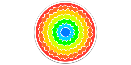 Unlimited Colouring Art Icon